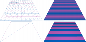 Functy without shaders (top) and with shaders (bottom)